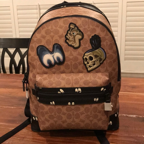 4c2d88c1664 Coach Bags   Academy Backpack Disney X Dark Fairytale   Poshmark